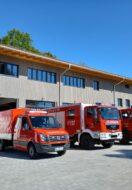 Baufortschritt Neubau Feuerwehrhaus